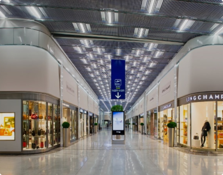Charles de Gaulle mall