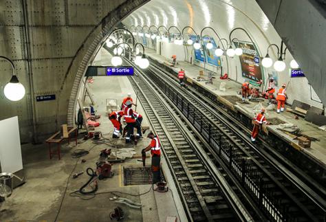 Modernisation du métro parisien